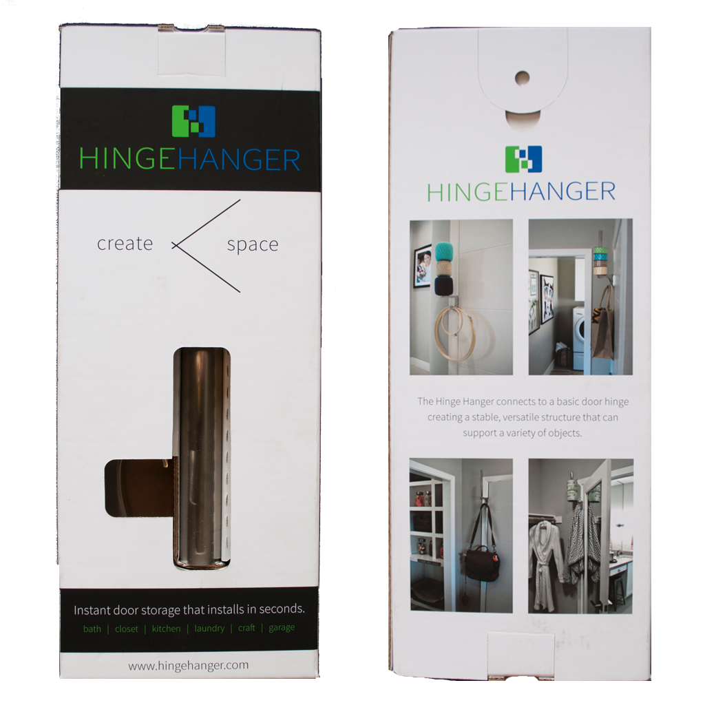 HingeHanger product packaging design