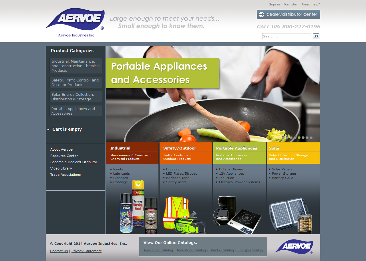 aervoe_desktop_website_portfolio