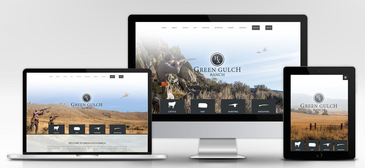 Green Gulch – Website Design